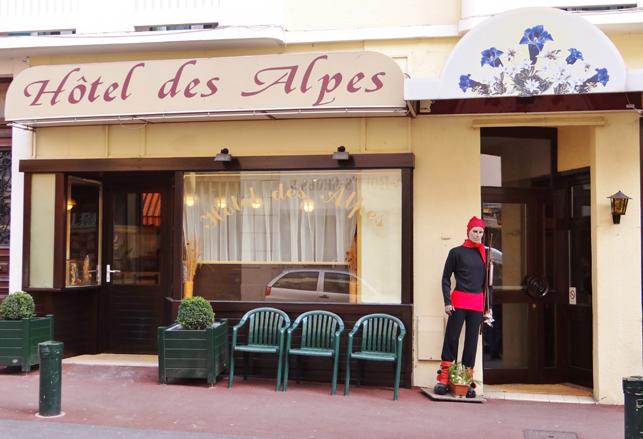 Hotel des alpes hotel aix les bains for Office de tourisme aix les bains